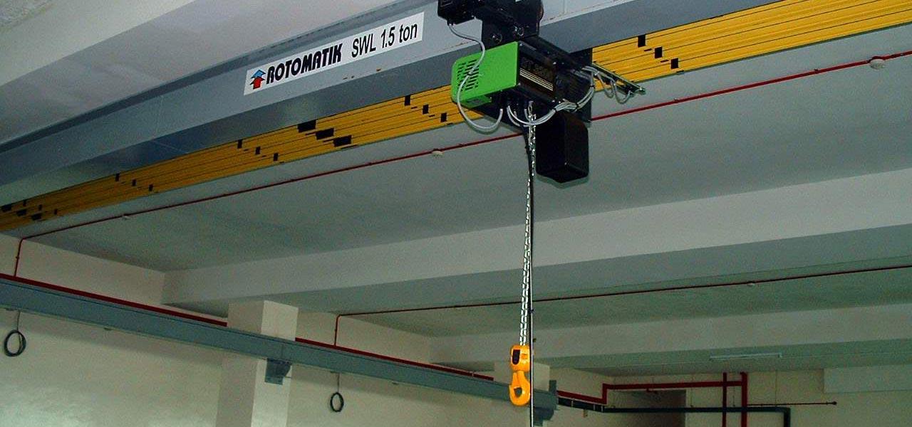 Electric chain hoists - Rotomatik